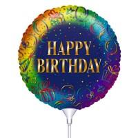 Folie ballon : Happy Birthday