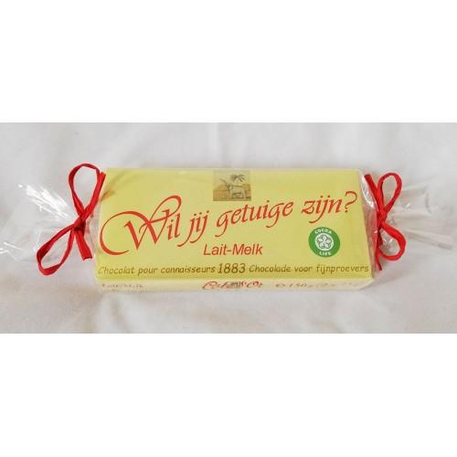 Côte D'Or chocoladereep : Wil jij getuige zijn?