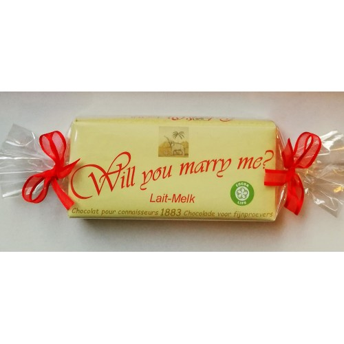 Côte D'Or chocoladereep : Will you marry me?