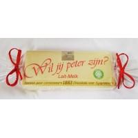 Côte D'Or chocoladereep met gepersonaliseerde wikkel : Wil jij meter zijn? of Wil jij peter zijn?