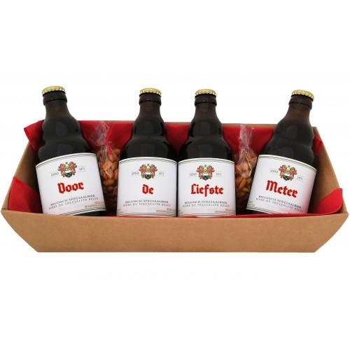 Duvel bierpakket : Voor de Liefste Meter (4 flesjes)