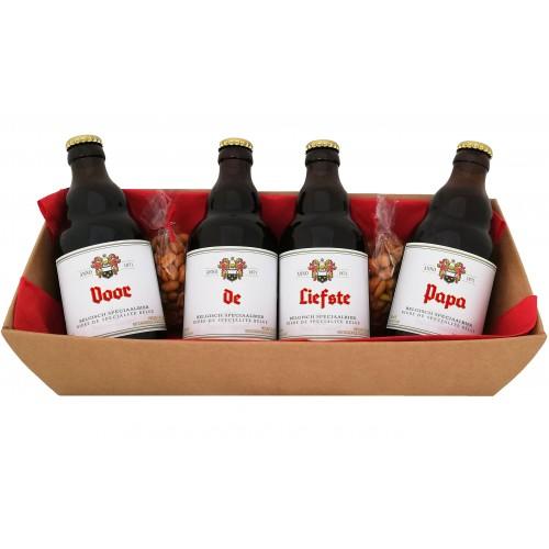 Duvel bierpakket : Voor de Liefste Papa (4 flesjes)