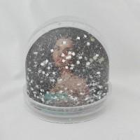 Schudbol met sneeuw of glitter (eigen ontwerp)