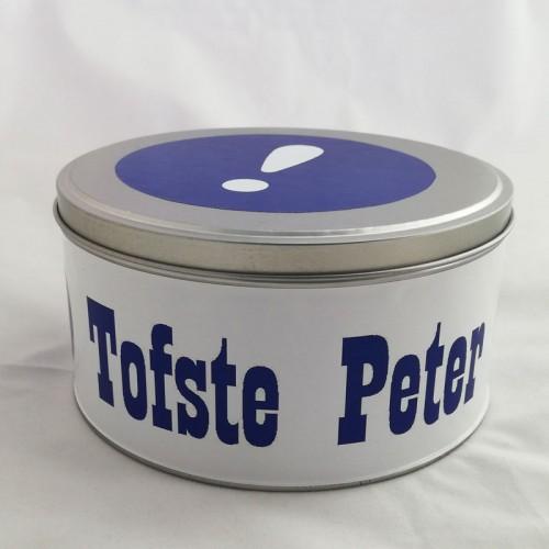 Koektrommel voor ' Tofste Peter '