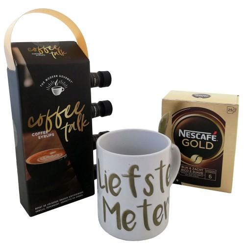 Kerstpakket Koffie : Voor de Liefste Meter / Tofste Peter