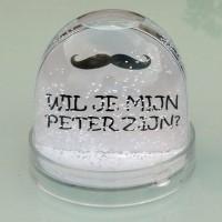 Schudbol  ' Wil je mijn peter zijn? '