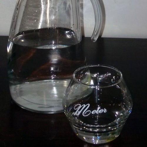 Meter waterglas