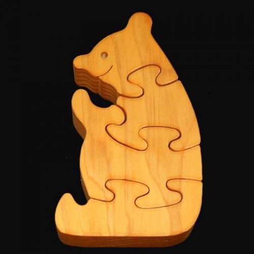 Houten puzzel : BEER