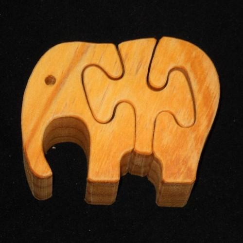 Houten puzzel : OLIFANT