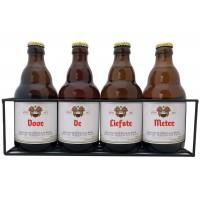 Duvel bierpakket : Voor de Liefste Meter (4 flesjes) - Rekje