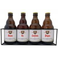 Duvel bierpakket : Voor de Liefste Papa (4 flesjes) - Rekje