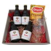 Duvel bierpakket met glas voor de Liefste Papa! (4 flesjes)