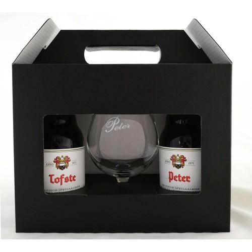 Duvel bierpakket met glas voor de Tofste Peter! (2 flesjes)