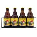 La Chouffe bierpakket : Voor de Liefste Meter (4 flesjes) - Rekje