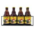La Chouffe bierpakket : Voor de Liefste Papa (4 flesjes) - Rekje