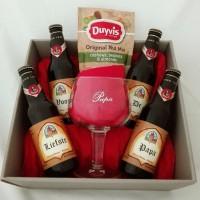 Leffe bierpakket met glas voor Papa!