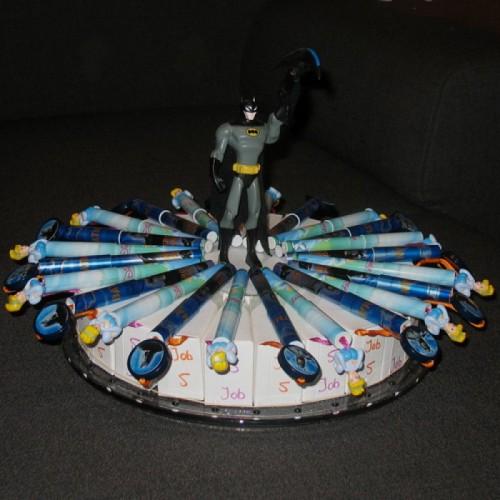 Batman - Prinsessen verjaardagstaart