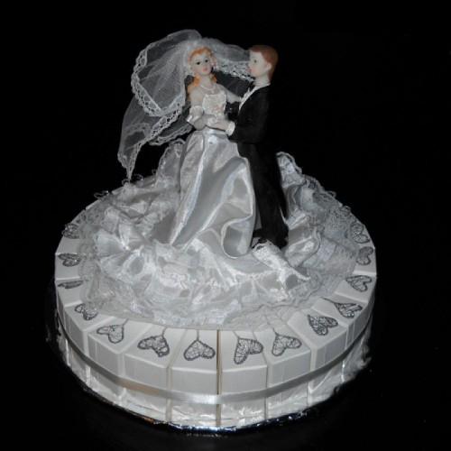 Hartjes Huwelijkstaart