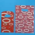 Uitdeelzakje - Rood met cirkels