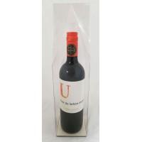 Wijnfles met gepersonaliseerd etiket - Voor de Liefste Meter