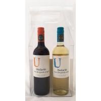Wijnflessen met gepersonaliseerd etiket - Bedankt voor alle goede zorgen!