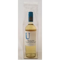 Wijnfles met gepersonaliseerd etiket - Bedankt voor alle goede zorgen!