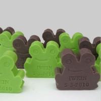 Kikker- Bedrukbare zeepjes