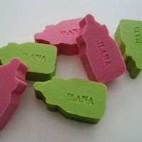 Papfles - Bedrukbare zeepjes