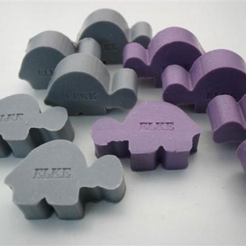 Schildpad - Bedrukbare zeepjes