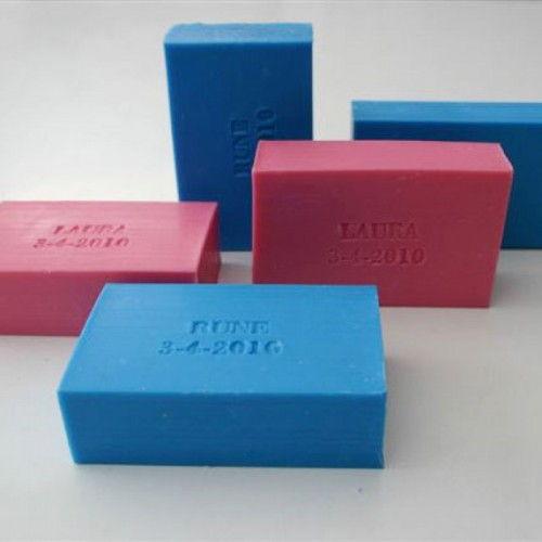 Dik blok - Bedrukbare zeepjes